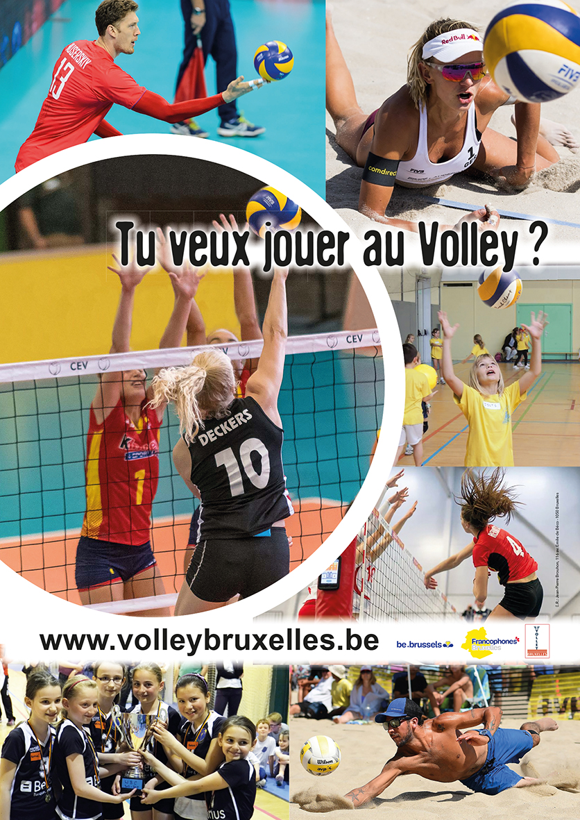Volley Bruxelles TuVeuxFaireDuVolley
